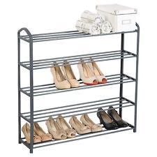 Schuhablage Schuhständer Schuhregal Schuhe Ständer Ablage Regal Grau SR0023sb5
