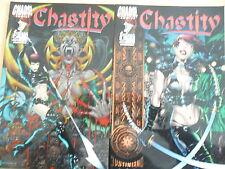 2 x Comic - Chasity Heft 1 und 2 - Chaos !
