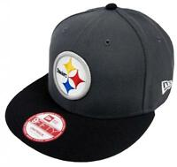 New Era NFL Pittsburgh Steelers Grafito GORRA SNAPBACK M L 9fifty Limitado 5ca64381d31