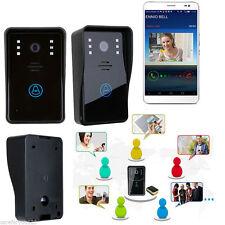 Smart Wireless WiFi Video IR Camera Door Phone Doorbell Intercom Security System