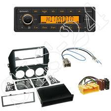 Continental TR7412UB-OR Radio + Mazda MX-5 ab11/2009 Blende schwarz +ISO Adapter