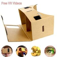 "DIY 3D Cardboard Virtual Reality Glasses +Free VR Games for 3.5 -5.5"" Phones XI"