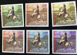 Haiti - Toussaint Louveture SG1671/6 MNH U/M