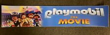 Playmobil The Movie 5x25 Movie Theater Mylar