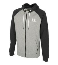 Under armour mens sportstyle tri blend full zip hoodie size XL RRP £55