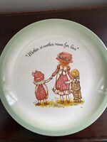 """Vintage (1970's) Holly Hobbie Collector's Edition 10"""" Plate"""