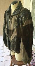 Cayenne Women's Fully Lined Leather Jacket Size M - EUC