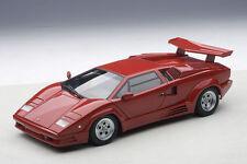 AutoArt LAMBORGHINI Countach 25th Anniversary RED 1:18 Signature Series 74534