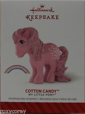 Hallmark Keepsake My Little Pony Cotton Candy Christmas Tree Ornament NIB