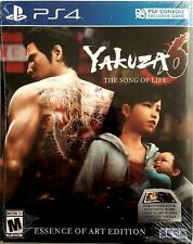 YAKUZA 6 THE SONG OF LIFE ESSENCE OF ART EDITION * PLAYSTATION 4 * BRAND NEW
