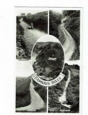 POST CARD REAL PHOTO NORTH DEVONS FAMOUS HILLS
