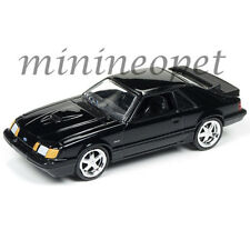 AUTOWORLD AW64051 1984 FORD MUSTANG SVO 1/64 DIECAST VERSION B BLACK
