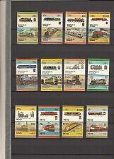 5 komplette Sätze Eisenbahn postfrisch Leaders of the World