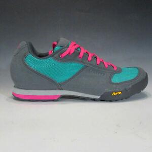 Giro Petra VR Cycling Shoes (Turquoise / Pink 39) MTB Mountain Bike, Cycle Class