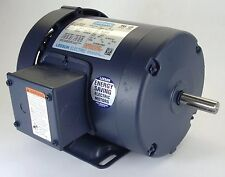1.5HP 3PH 1725RPM 145T 230/460V TEFC LEESON ELECTRIC MOTOR #120922