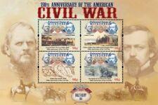 Micronesia- American Civil War 150th Anniv. Ball's Bluff Sheet of 4