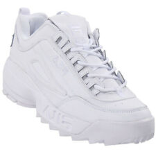 Fila Men's Disruptor II Embossed Logo Lace Up Sneakers
