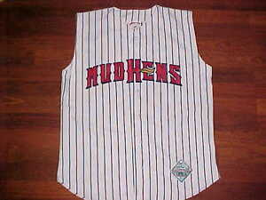 Jersey Express Minor League Toledo Mud Hens Sleeveless Vest Stripes Jersey M New