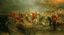 BATTAGLIA di rorke`s DRIFT GUERRA ANGLO ZULU WARRIOR British Army Militare AFRICA 2