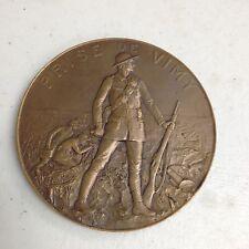 Rare WWI Medal Prise De Vimy
