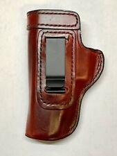 LH fits Glock 17 22 31 Brown Leather IWB Pocket Clip Don Hume Holster