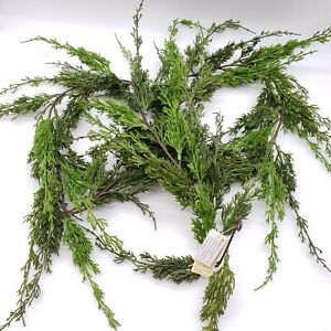 NEW!!  Vickerman 6 ft  Monterey Cypress Artificial Christmas Green Garland