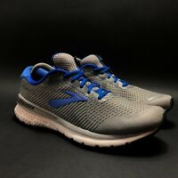 Brooks Adrenaline GTS 20 Mens Gray Blue Athletic Shoes Size 9.5 1103071B051
