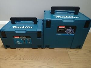 Two x Makita MakPac Stacking Connector Cases 1 x Type 3 and 1 x Type 4