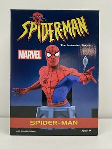 Spider-Man Resin Bust Statue 2379/3000 Diamond Select Toys Marvel Animated