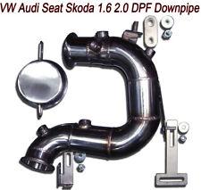 Tubo Rimozione DOWNPIPE FAP DPF Audi A3 8V 1.6 105 110 115 cv TDI GTD VA4