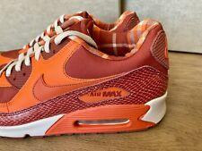 Nike Air Max 90 QK Steve Nash 11 Red Orange Snakeskin PHX Suns Jordan Sneakers