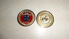 CHALLENGE COIN USMC MARINE CORPS THIRD BATTALION GUADALCANAL