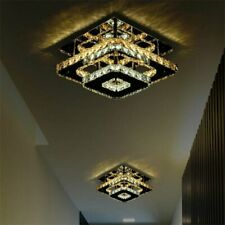 36W Crystal Ceiling Light LED Pendant Lamp Flush Mount Chandelier Fixtures NEW