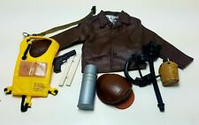 Military Uniform Weapons Accessories for 1/6 Scale Action Figure GI Joe Lot #473
