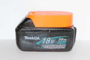 Orange battery holder / cover for Makita BL1820 BL1830 BL1840 BL1850 18v