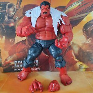 """Red Hulk Action Figure Marvel Legends 8"""""""