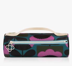 Orla Kiely Spring Bloom Pencil Case Cosmetic Bag