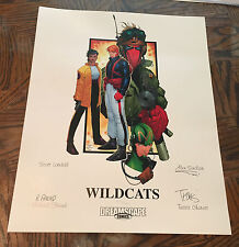 """Wildcats Lithograph Signed & Numbered by Travis Charest 16"""" x 20"""" Ltd Ed of 500"""