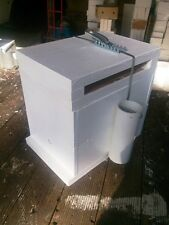 Empty double storey native bee hive for splitting or log transfer.Book 9 inc