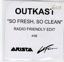 (CA81) Outkast, So Fresh So Clean - 2001 DJ CD