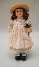 Resin Doll - Dottie  (girl in straw hat) 3084 1/12 scale Houseworks figurine
