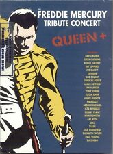 3 DVD SET QUEEN + THE FREDDIE MERCURY TRIBUTE CONCERT SEALED NEW LIVE