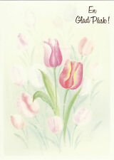 1 card Swedish Easter Greeting Card Alfred Mainzer E 28295 Pask