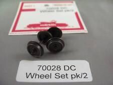 EE 70028 NEW HAMO Märklin HO Wheel Sets for 2 Rail DC D12.0/L26.2; Pack of 2