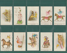 CIRCUS  -  LUSBY  SCENES  FROM  CIRCUS  LIFE  -  SET  OF  25  CARDS  -  REPRINTS
