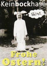 "Postkarte, Osterkarte, ""Keinbockhase"""