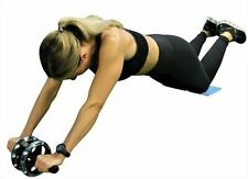 Ab Roller Wheel Pull Exercise Stretch Waist Abdominal Slimming Fitness