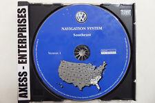 04 05 Volkswagen VW Touareg Navigation CD ©2003 Map # 9 Southeast AL FL GA NC SC