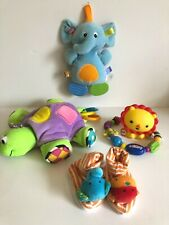 Lot of 6 Fisher Price Lamaze Nuby Other Assorted Infant Baby Toys
