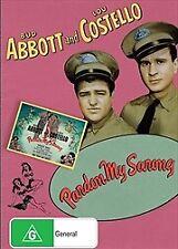 Pardon My Sarong (DVD, Abbott & Costello) Brand New and Unsealed Region 4